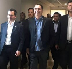Bolsonaro leaves hospital in Sao Paulo after 17 days